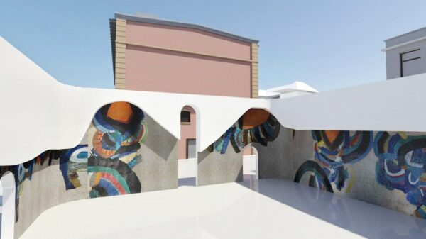 Paviljon s Murtićevim mozaikom