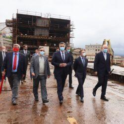 Gradonačelnik Vojko Obersnel, Andrej Plenković, ministri Butković i Ćorić, vlasnik Scenic grupe Glen Moroney i Saša Čokljat-