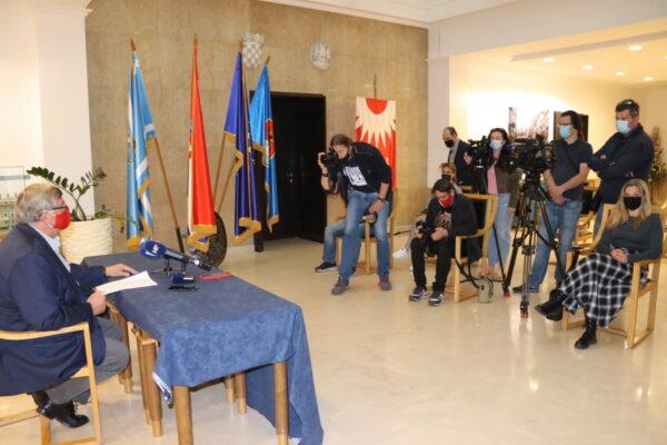 Gradonačelnik predstavio učinjeno u svom gradonačelničkom mandatu