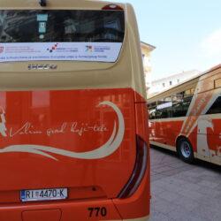 Predstavljanje pet novih autobusa Autotroleja