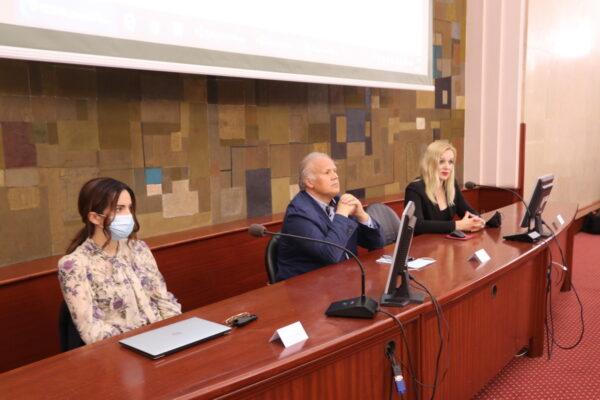 Antonija Mlikota, Srđan Škunca i Maja Vukan
