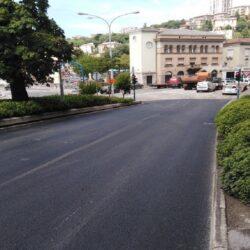 Sanacija kolnika u Križanićevoj ulici