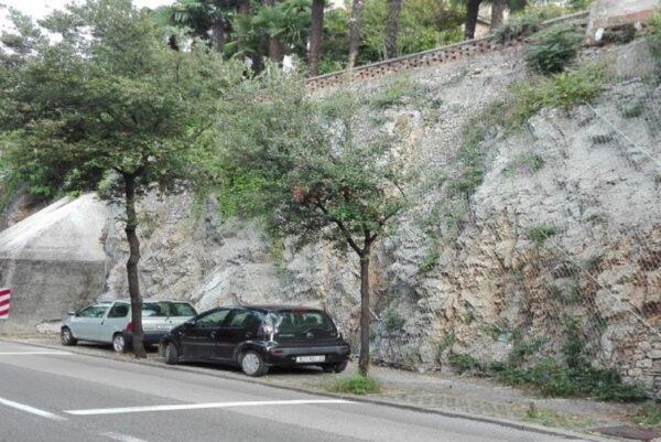 Sanacija stijenskog pokosa u Ulici Bulevar oslobođenja