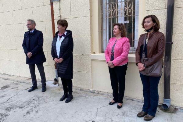 Vladimir Mozetič, Marina Medarić, Đulija Malatestinić i Karla Mušković