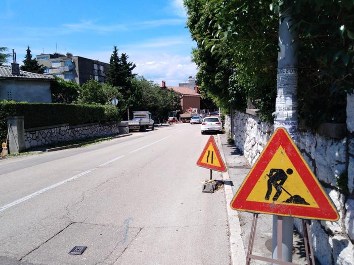 Radovi u Kvaternikovoj ulici