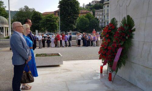 Dan antifašističke borbe - Položeni vijenci na Spomeniku oslobođenja