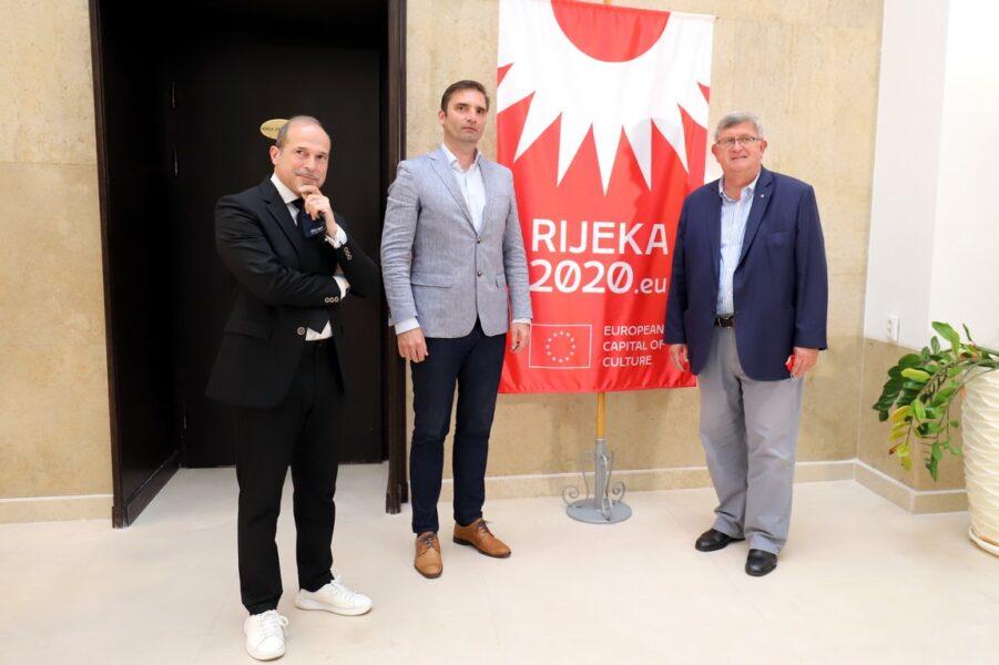 Fabbrizio Oreti, Klement Miklavič i Vojko Obersnel