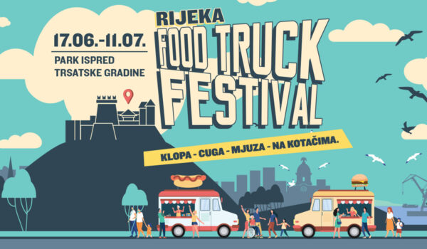 Food truck festival prvi put u Rijeci
