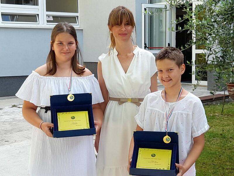 Medalje učenicima OŠ Eugen Kumičić