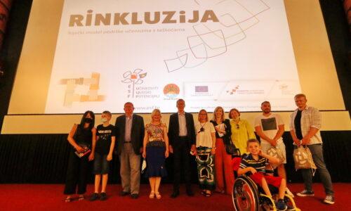 Premijera dokumentarnog filma o pomoćnicima u nastavi u okviru projekta Rinkluzija