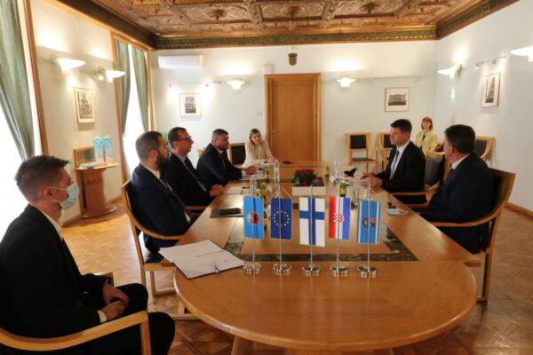 Prijem za novog finskog veleposlanika Kallea Johannesa Kankaanpääa