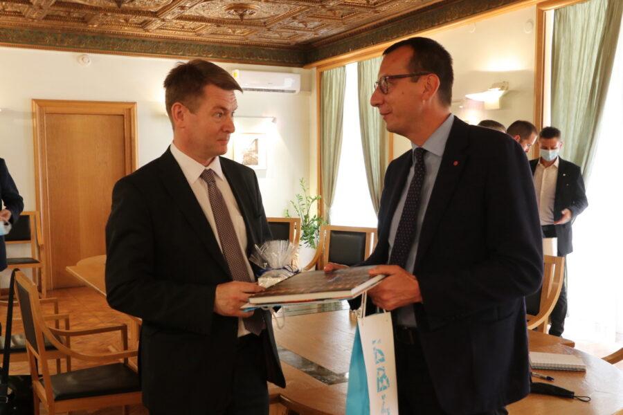 Prijem za novog finskog veleposlanika