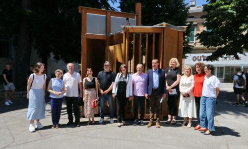 Proslava 75. obljetnice Građevinske tehničke škole i otvaranje Umjetničkog paviljona