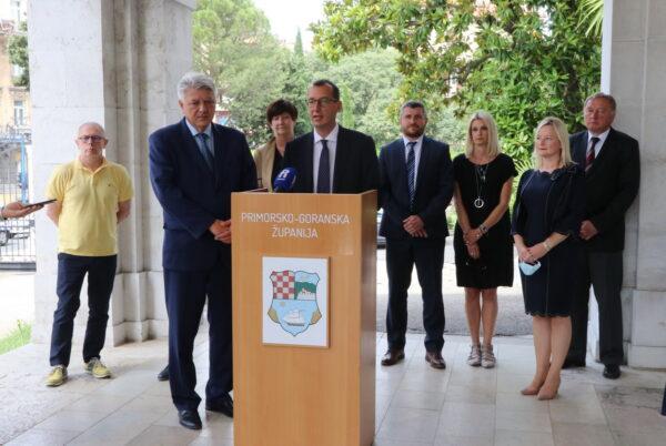 Goran Palčevski, Zlatko Komadina, Marina Medarić, Marko Filipović, Petar Mamula, Verena Lelas-Turak, Sandra Krpan i Goran Petrc