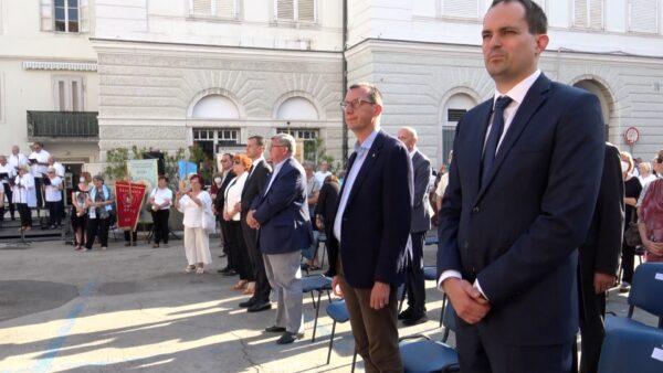 Među uzvanicima i gradonačelnik Rijeke Marko Filipović i dosadašnji gradonačelnik Vojko Obersnel