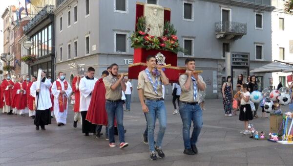 Svečana procesija ove godine prošla nešto kraćom rutom nego što je uobičajeno