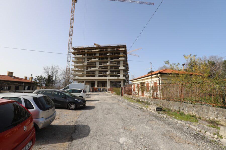 Gradilište novog stambenog kompleksa na Kantridi Labinska ulica