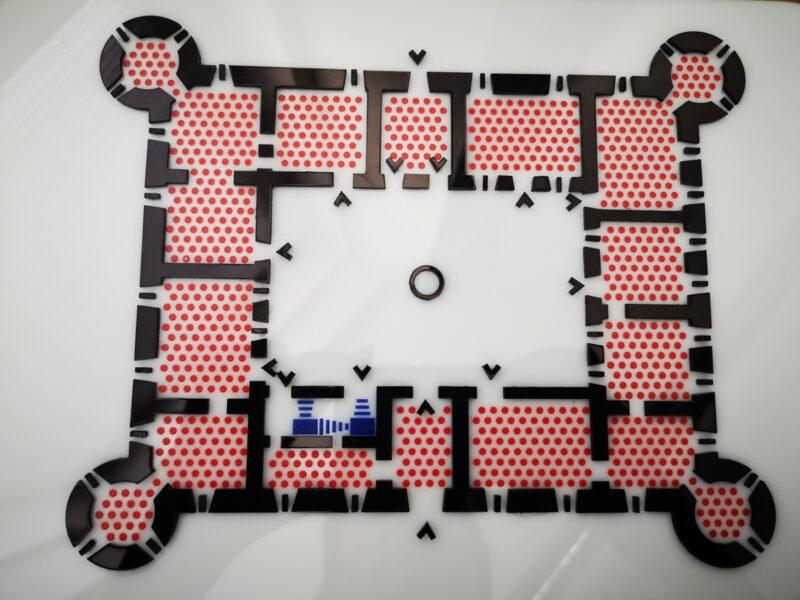 KTR Putevima Frankopana - reljefni prikaz Dvorac Nova Kraljevica