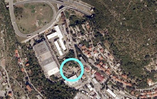Lokacija dijela komunalno-servisne zone Škurinje