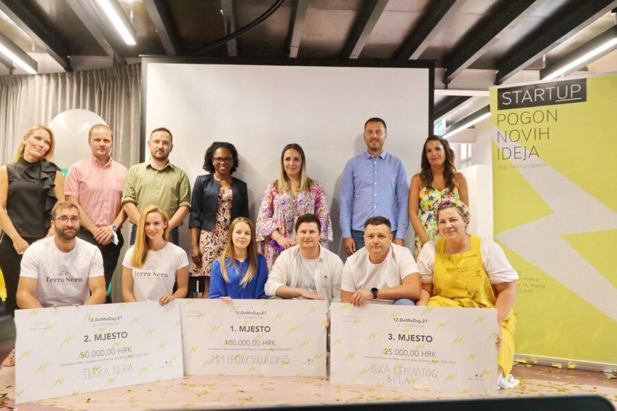 Najbolji timovi 12. generacije Startup inkubatora Rijeka