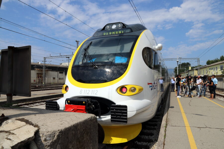 Novi vlak na riječkome području