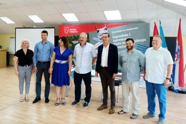 Potpis Ugovora sa tvrtkom VG 5 za Kuću halubajskega zvončara