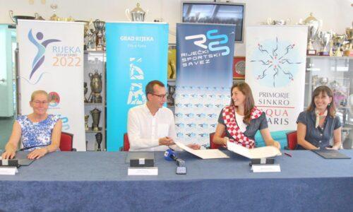 Potpisivanje Ugovora o organizaciji 1. Europskog prvenstva za juniore u sinkro plivanju i Comen cupa