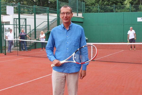 Predstavljanje obnovljenog teniskog terena u Sportsko-rekreacijskom centru Mlaka