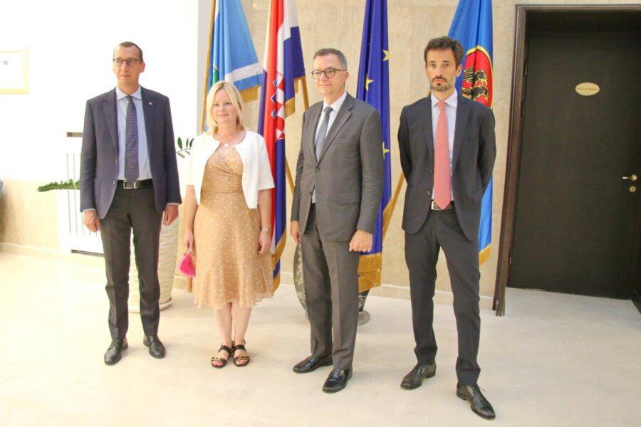 Prijam za talijanskog veleposlanika Pierfrancesca Sacca (1)