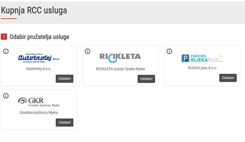 Prezentacija novih funkcinalnosti Rijeka City Card sustava