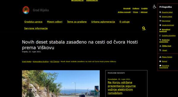 Digitalna pristupačnost na Rijeka.hr