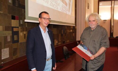 Dodjela likovne nagrade Ivo Kalina slikaru Mauru Stipanovu