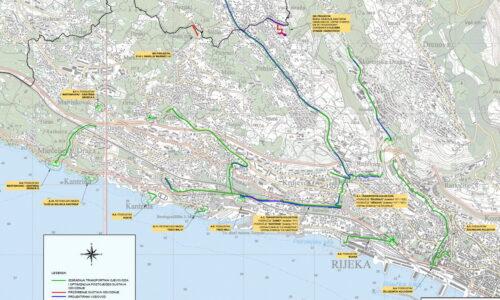 """EU projekt """"Poboljšanje vodno-komunalne infrastrukture na području aglomeracije Rijeka"""" - grupa radova u Rijeci i na Viškovu"""