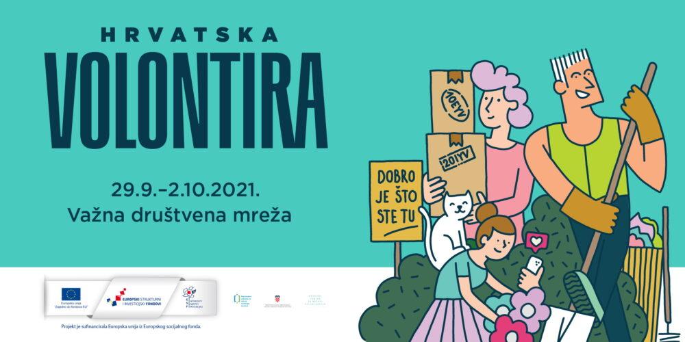 Hrvatska volontira 2021