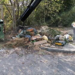 Jesenska akcija čišćenja - Bujska ulica - prije