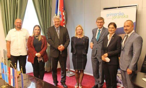 Nastupni posjet austrijskog veleposlanika Josefa Markusa Wuketicha