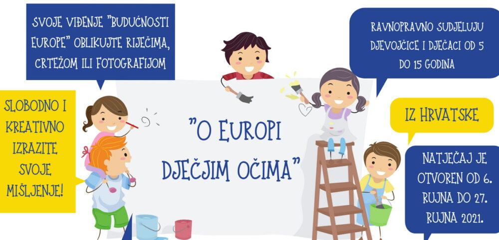 Natječaj O Europi dječjim očima