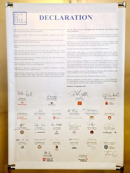 Deklaracija o slobodnim gradovima