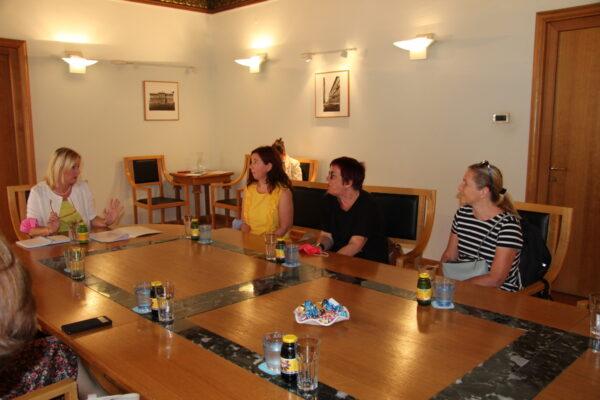 Prijem za sudionike Erasmus plus projekta o coachingu