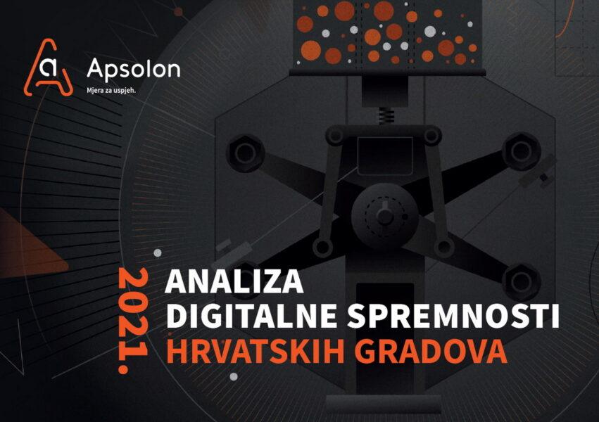 Analiza digitalne spremnosti hrvatskih gradova 2021