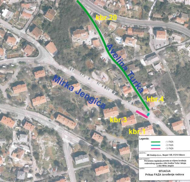 Dogradnja sustava javne odvodnje u ulicama Avelina Turka i Mirka Jengića