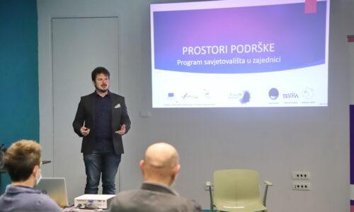 Predstavljanje projekta ProstoRi podrške - Program savjetovališta u zajednici