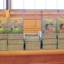 Prezentacija novih izdanja knjiga Sportske lektire - Super Luka i Bosonogi Pele