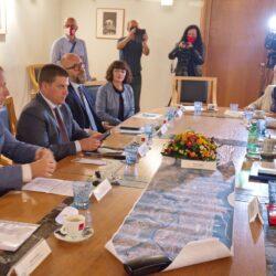 Radni sastanak s ministrom Olegom Butkovićem na temu realizacije projekata prometne infrastrukture